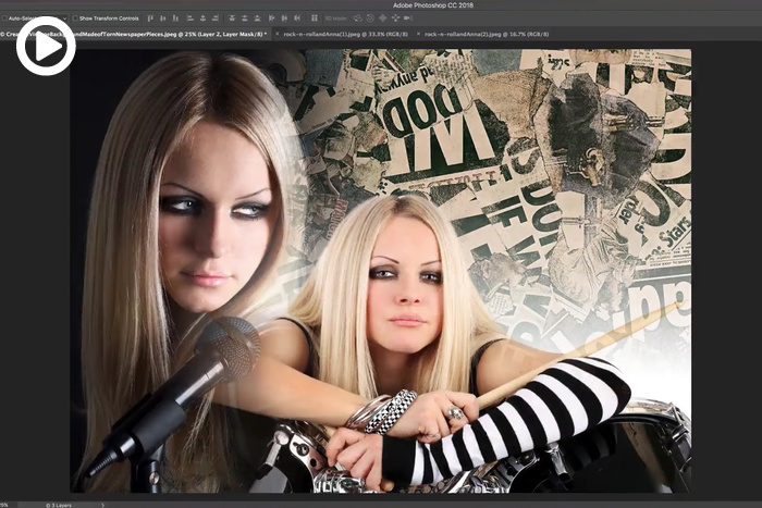 Combine Photos and Create Collages in Photoshop with Layer Masks