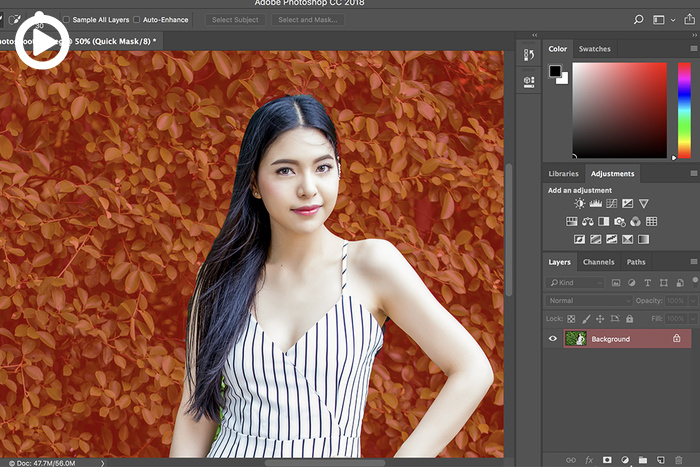Adobe Releases Update to Photoshop CC, Includes Powerful New Selection Tool