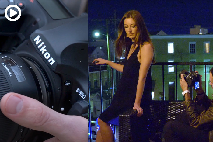 How We Shoot Video at Night With the Tamron 35mm f/1.8