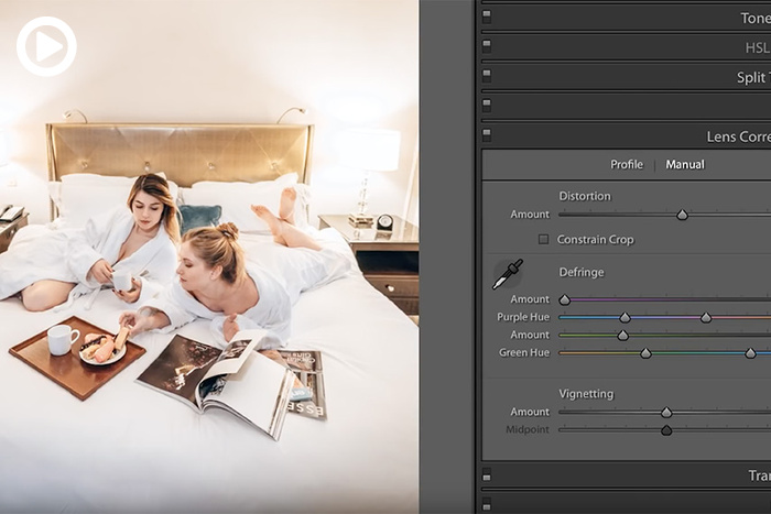 How to Use Lens Correction in Lightroom