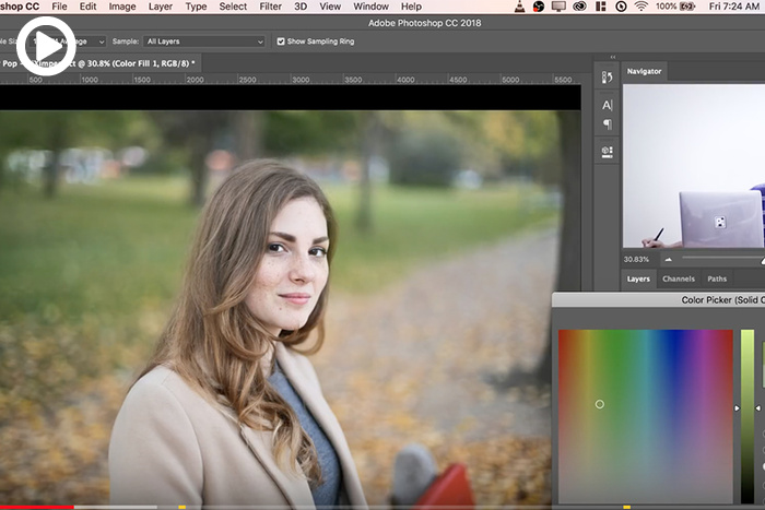 Make Your Photo's Colors Pop Using Photoshop
