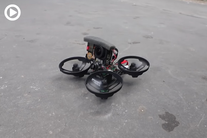 Tiny Drone Collaboration With Droneworks and Casey Neistat