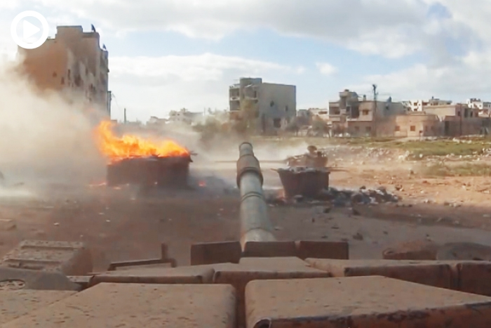 Gopro Mounted On Syrian Tanks Record Interesting And -2602