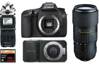Crazy Deal on Blackmagic Pocket Cinema Camera, Canon 7D Bodies and Kits, and SanDisk Media