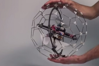 Meet GimBall: The Crash-Proof Drone