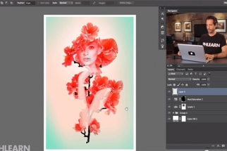 Phlearn Shows You How to Create an Artistic Double Exposure in Photoshop