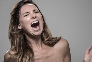 The Stun Gun Photoshoot:  Portraits of People's Faces When Hit With A Stun Gun