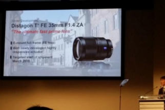 Sony Reveals Four New Lenses
