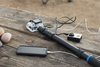 PowerPole Accessory Adds Much Needed Battery Life and Reach to the GoPro