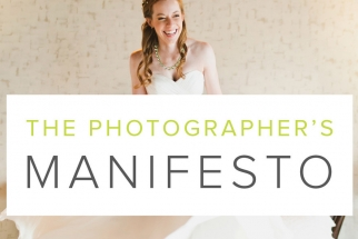 The Photographer's Manifesto