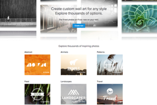 Flickr Pulls Creative Commons Images from Wall Art Service
