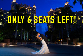 Only 6 Seats Left in Pye and Justin's Wedding Photography Workshop