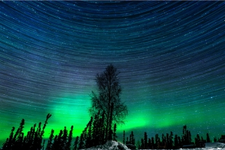 Awake - A Timelapse of The Northern Lights by Alexis Coram