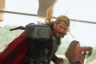 Funny BTS Video of 'Avengers: Age of Ultron' Brings Playing Pretend to a Whole New Level