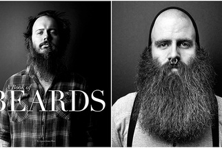 Justin James Muir and 'A Book of Beards' - How a Simple Idea Became a Contribution to Fighting Cancer