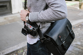 ONA Announces the Berlin II Now in Beautiful Black Leather with Gunmetal