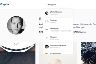Instagram Redesigned Profiles for Web, Finally Add Search Capabilities