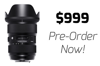 Sigma Amazes with Pricing for World's First Full-Frame f/2 Zoom Lens: $999