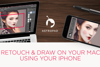 On the Go Retouching Just Got Even More Mobile with Astropad Mini
