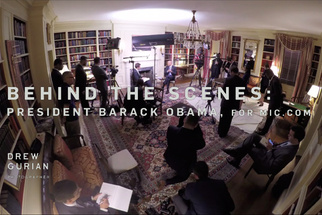 Behind the Scenes Photographing President Barack Obama