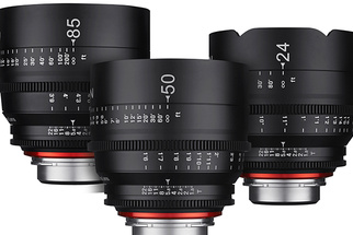 Rokinon Announces New Affordable Professional Grade Cine Lens System