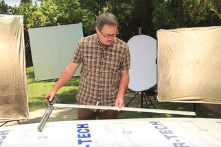 Learn How to Create a Quick DIY Reflector to Improve Your Lighting Set Up