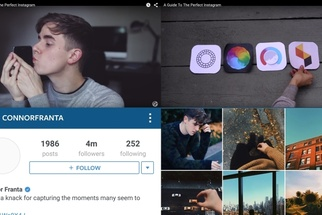 Instagram Sensation Connor Franta, With 4 Million Followers, Shows His Mobile Editing Workflow