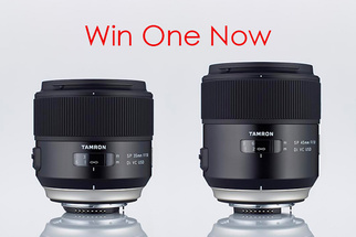 Win a FREE Tamron Prime Lens of Your Choosing - Either the New 35mm or 45mm f1.8