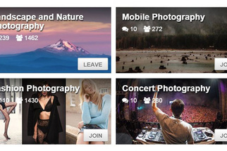 Join the Fstoppers Community and Explore Photography Groups