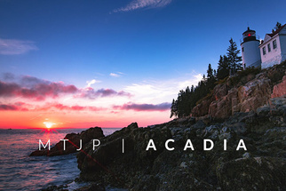 Exploring Fall Colors in Acadia National Park through Time-Lapse and Video