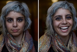 Photographer Captures People's Reactions When Told They Are Beautiful