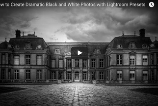 Using Lightroom Presets to Create Dramatic Black and White Photos
