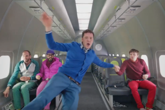 Band OK Go Takes the Idea of a Music Video to New Heights (Literally)
