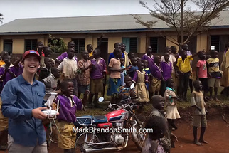 Watch As School Children In Uganda See A Drone Fly For The First Time