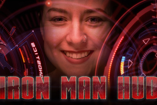 How to Create an Iron Man Heads-Up Display Effect