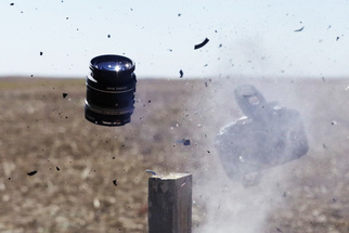 Shooting Cameras With a High-Powered Rifle to Test StopShot's Abilities