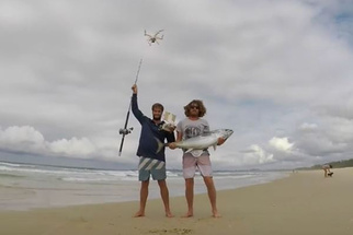 Using a Drone to Fish for Tuna