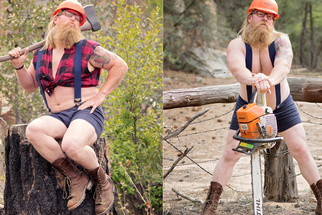 A Whimsical Woodsman Becomes a Symbol for Self-Confidence and Acceptance