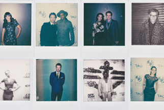 Shooting A-List Celebrities with Polaroid Cameras