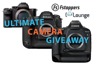 The Ultimate Camera Giveaway: Win A Canon, Nikon, or Sony Camera Worth Up To $6500