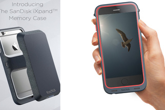 The SanDisk iXpand Memory Case Packs on More Storage for iPhones