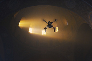 Flirting With Disaster: Filmmaker Duo Flies Drone Inside Byzantine Church and the Result Is Beautiful