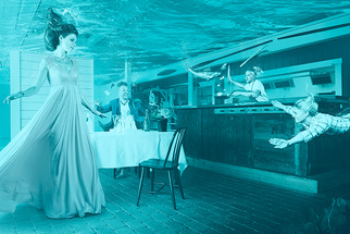 Behind the Scenes: Photographer Composites Incredible Underwater Restaurant Shoot