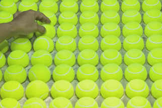 A Hypnotic Film About How a Tennis Ball Is Created
