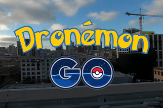 'Dronemon Go' Uses DJI Inspire to Catch Em All On New Pokemon Go