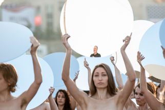 100 Women Pose Nude in Art Installation [NSFW]
