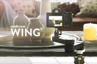The Edelkrone Wing: Compact Smooth Dynamic Video Motion