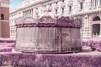 Roma Rosa: A Surreal Infrared View of Rome