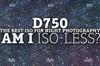 ISO Review: Capture the Night Sky with the ISO-less Nikon D750