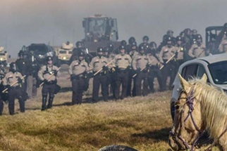 The One Iconic Photo that Encompasses the Essence of the Standing Rock Protest